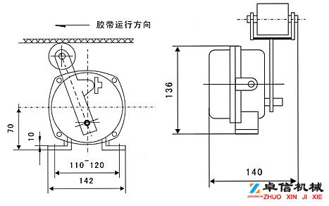 速度开关,测速传感器XSAV11801(低速型)高低速速度开关