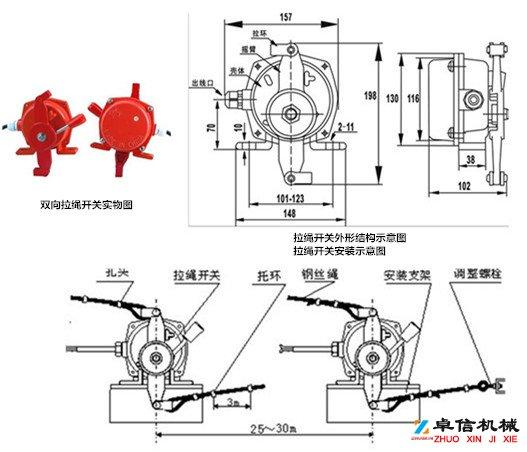 PDLSKG DLK-II-手动拉绳开关PDLSKG DLK-II-事故开关生产公司厂家
